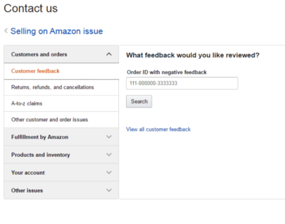 Amazon Customer Feedback